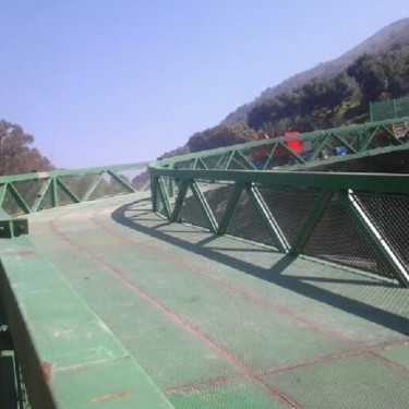 Pasarela Férrea en Málaga 3 - Industrias Metálicas la Azucarera