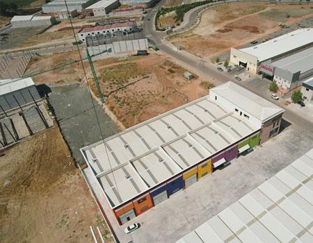 Construcciones metálicas Écija - Industrias Metálicas la Azucarera