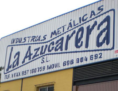 Puertas metálicas Andújar - Industrias Metálicas la Azucarera